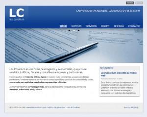 Lex Conslilium home page
